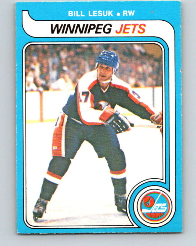 1979-80 O-Pee-Chee #312 Bill Lesuk  Winnipeg Jets  V19743
