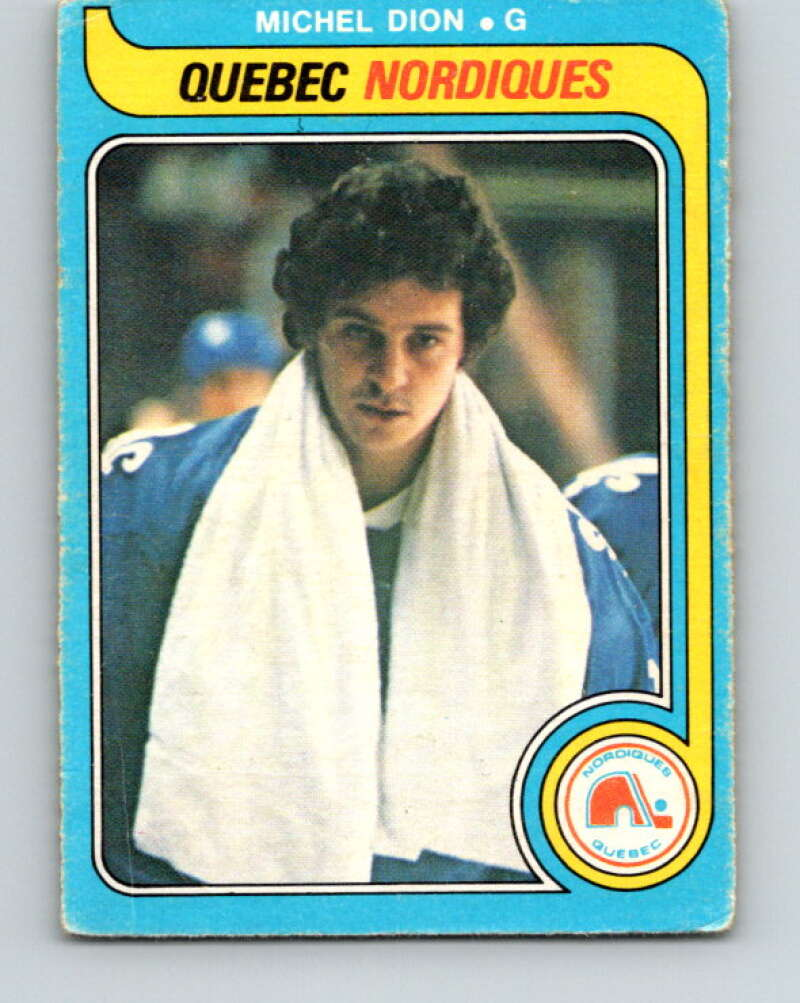 1979-80 O-Pee-Chee #316 Michel Dion  Quebec Nordiques  V19789