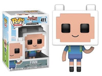 Funko Pop - 411 Animation Adventure Time Minecraft - Finn Vinyl Figure