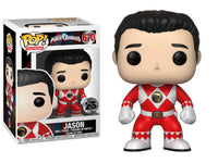 Funko Pop - 670 Television Power Rangers - Jason Red Vinyl Figure *VAULTED