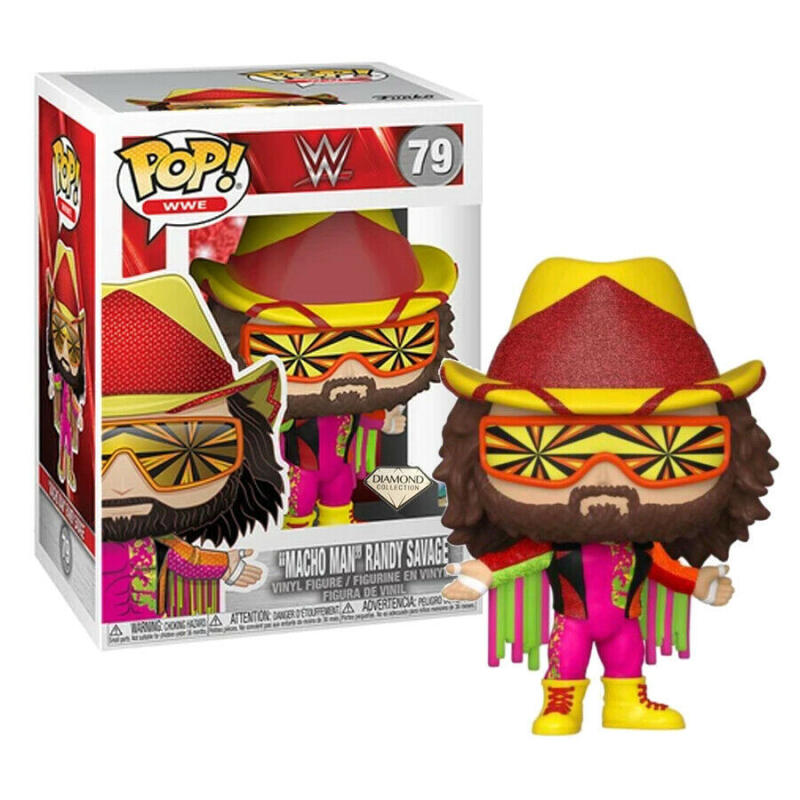 "Funko Pop - 79 WWE Wrestling - ""Macho Man"" Randy Savage Vinyl Figure"