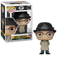 Funko Pop - 156 Football NFL - Vince Lombardi Packers Vinyl Figure