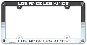 "Los Angeles Kings Plastic License Plate Frame - Standard 6""x12"""