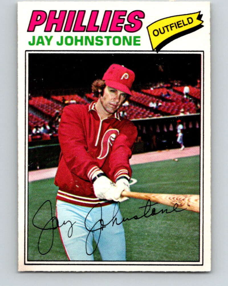 1977 O-Pee-Chee #226 Jay Johnstone  Philadelphia Phillies  V29285