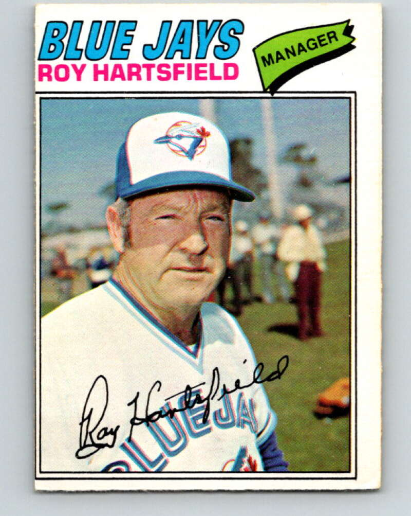 1977 O-Pee-Chee #238 Roy Hartsfield MG  Toronto Blue Jays  V29314