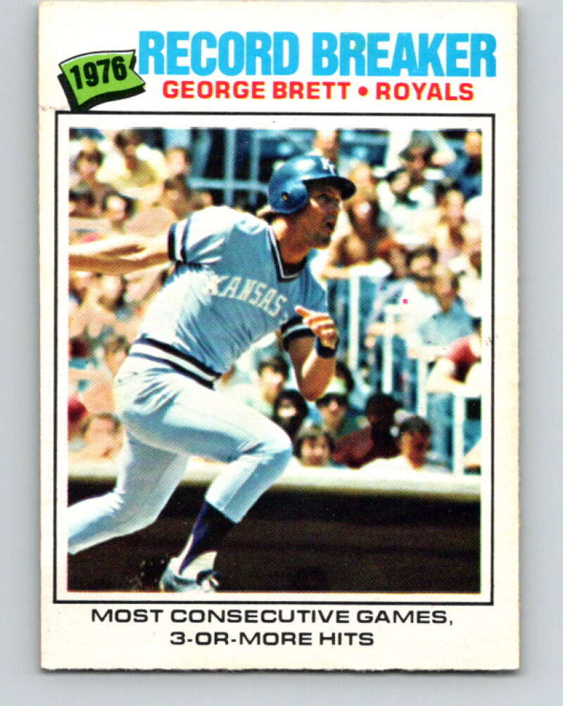 1977 O-Pee-Chee #261 George Brett RB  Kansas City Royals  V29366