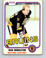 1981-82 O-Pee-Chee #2 Rick Middleton  Boston Bruins  V29378