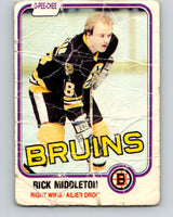 1981-82 O-Pee-Chee #2 Rick Middleton  Boston Bruins  V29379