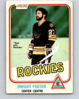 1981-82 O-Pee-Chee #3 Dwight Foster  Colorado Rockies  V29380