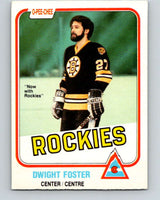 1981-82 O-Pee-Chee #3 Dwight Foster  Colorado Rockies  V29381
