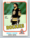 1981-82 O-Pee-Chee #3 Dwight Foster  Colorado Rockies  V29382