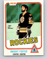 1981-82 O-Pee-Chee #3 Dwight Foster  Colorado Rockies  V29384