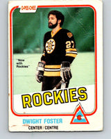 1981-82 O-Pee-Chee #3 Dwight Foster  Colorado Rockies  V29386