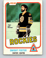 1981-82 O-Pee-Chee #3 Dwight Foster  Colorado Rockies  V29387
