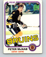 1981-82 O-Pee-Chee #5 Peter McNab  Boston Bruins  V29397