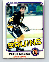 1981-82 O-Pee-Chee #5 Peter McNab  Boston Bruins  V29399