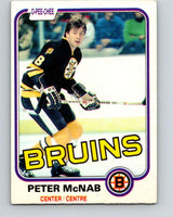 1981-82 O-Pee-Chee #5 Peter McNab  Boston Bruins  V29400