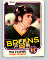 1981-82 O-Pee-Chee #6 Mike O'Connell  Boston Bruins  V29402