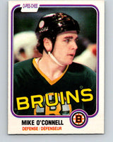 1981-82 O-Pee-Chee #6 Mike O'Connell  Boston Bruins  V29403