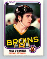 1981-82 O-Pee-Chee #6 Mike O'Connell  Boston Bruins  V29404