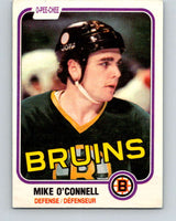 1981-82 O-Pee-Chee #6 Mike O'Connell  Boston Bruins  V29405