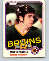 1981-82 O-Pee-Chee #6 Mike O'Connell  Boston Bruins  V29406