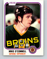 1981-82 O-Pee-Chee #6 Mike O'Connell  Boston Bruins  V29407