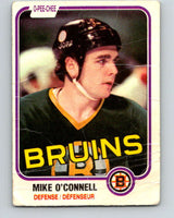 1981-82 O-Pee-Chee #6 Mike O'Connell  Boston Bruins  V29410