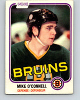 1981-82 O-Pee-Chee #6 Mike O'Connell  Boston Bruins  V29412