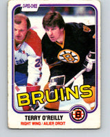 1981-82 O-Pee-Chee #7 Terry O'Reilly  Boston Bruins  V29413