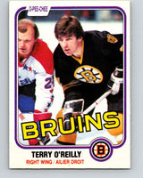 1981-82 O-Pee-Chee #7 Terry O'Reilly  Boston Bruins  V29414