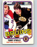 1981-82 O-Pee-Chee #7 Terry O'Reilly  Boston Bruins  V29415