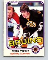 1981-82 O-Pee-Chee #7 Terry O'Reilly  Boston Bruins  V29416