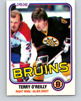 1981-82 O-Pee-Chee #7 Terry O'Reilly  Boston Bruins  V29417