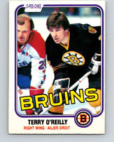 1981-82 O-Pee-Chee #7 Terry O'Reilly  Boston Bruins  V29418