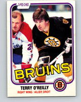 1981-82 O-Pee-Chee #7 Terry O'Reilly  Boston Bruins  V29419