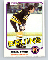 1981-82 O-Pee-Chee #8 Brad Park  Boston Bruins  V29420