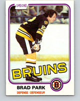 1981-82 O-Pee-Chee #8 Brad Park  Boston Bruins  V29421