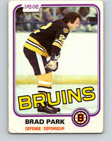 1981-82 O-Pee-Chee #8 Brad Park  Boston Bruins  V29422