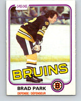 1981-82 O-Pee-Chee #8 Brad Park  Boston Bruins  V29423