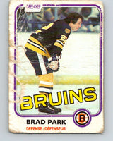 1981-82 O-Pee-Chee #8 Brad Park  Boston Bruins  V29424