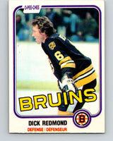 1981-82 O-Pee-Chee #9 Dick Redmond  Boston Bruins  V29425