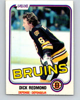 1981-82 O-Pee-Chee #9 Dick Redmond  Boston Bruins  V29427
