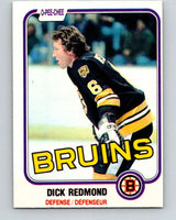 1981-82 O-Pee-Chee #9 Dick Redmond  Boston Bruins  V29431