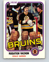 1981-82 O-Pee-Chee #10 Rogie Vachon  Boston Bruins  V29435