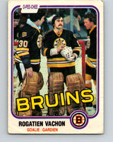 1981-82 O-Pee-Chee #10 Rogie Vachon  Boston Bruins  V29437