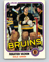 1981-82 O-Pee-Chee #10 Rogie Vachon  Boston Bruins  V29438