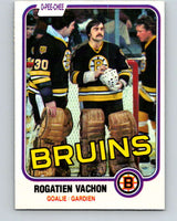 1981-82 O-Pee-Chee #10 Rogie Vachon  Boston Bruins  V29440