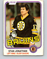 1981-82 O-Pee-Chee #13 Stan Jonathan  Boston Bruins  V29461