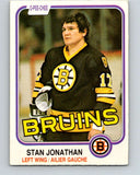 1981-82 O-Pee-Chee #13 Stan Jonathan  Boston Bruins  V29466
